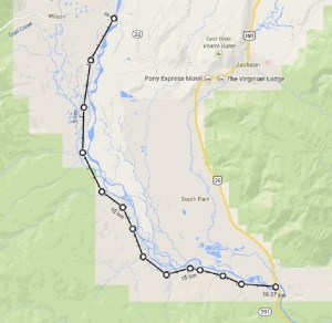 Rafting Route