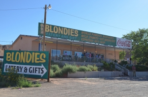 Blondies in Hanksville