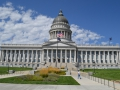 Das Capitol von Utah in Salt Lake City