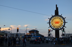 Am Embarcadero - Fisherman´s Wharf